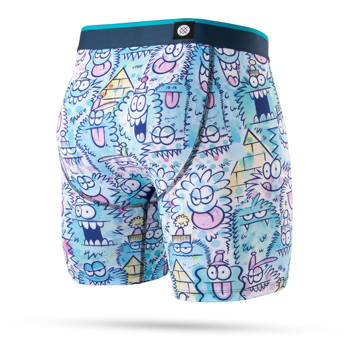 Stance Underwear Monster Watercolour Boxer Brief Blue