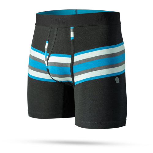 Stance Underwear JOAN BOXER BRIEF Black