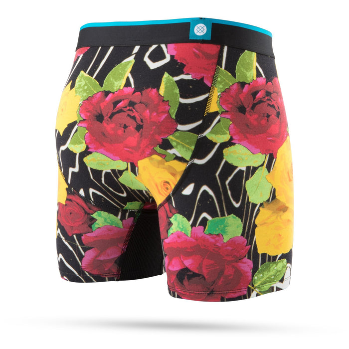 Stance Underwear Marble Flowers Wholester Black