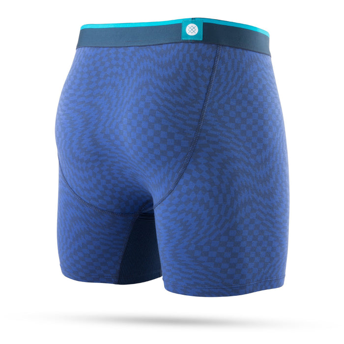 Stance Underwear Warped Check Wholester Blue