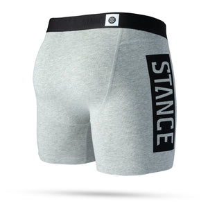 Stance Underwear OG 6in Heather Grey