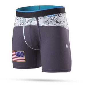 Stance Underwear Military Flag Wholester Black