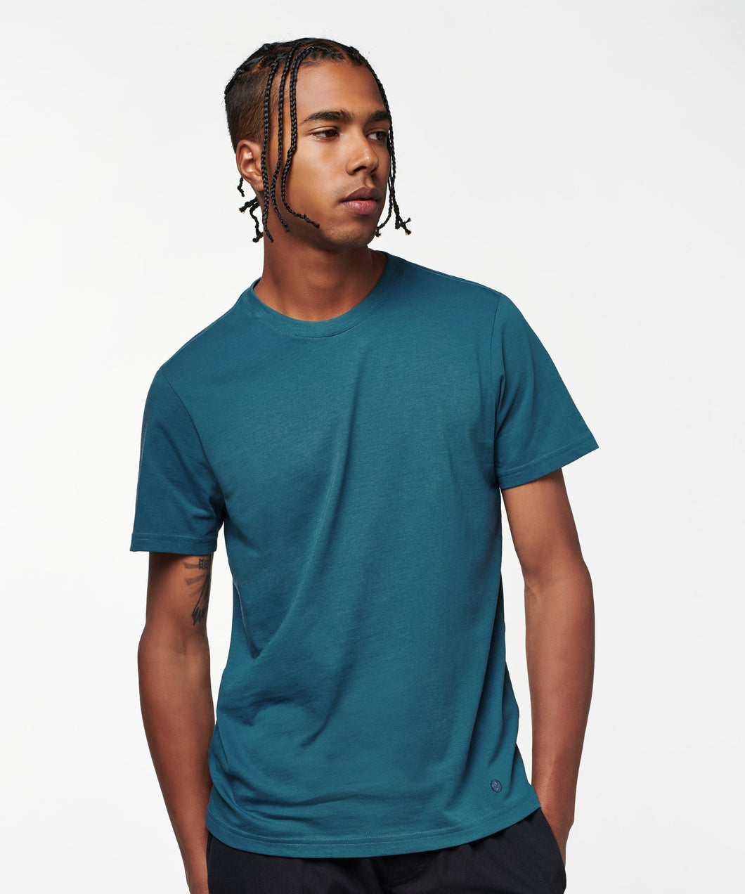 Stance T-Shirts PRIMER MENS Navy fade