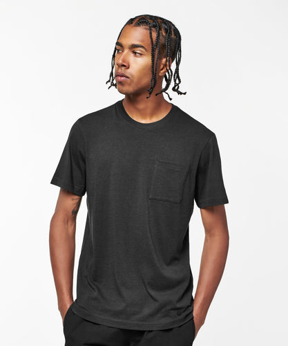 Stance Socks SHELTER POCKET T-SHIRT MENS Black fade