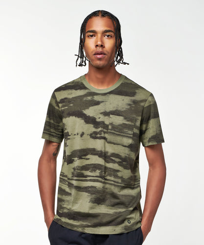 Stance T-shirt Shelter Pocket Camo
