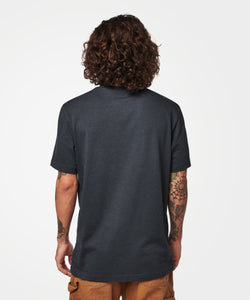 Stance T-shirts Shelter Pocket Mens Dark navy