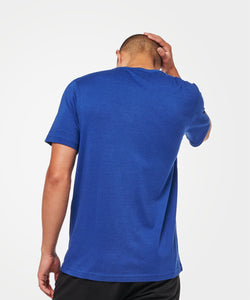 Stance T-shirts Shelter Pocket Mens Dark royal
