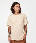 Load image into Gallery viewer, Stance T-shirts Shelter Pocket Mens Oatmeal heather