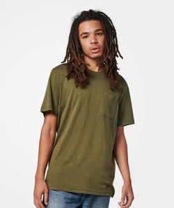Stance T-Shirts M Shelter Pocket T Olive