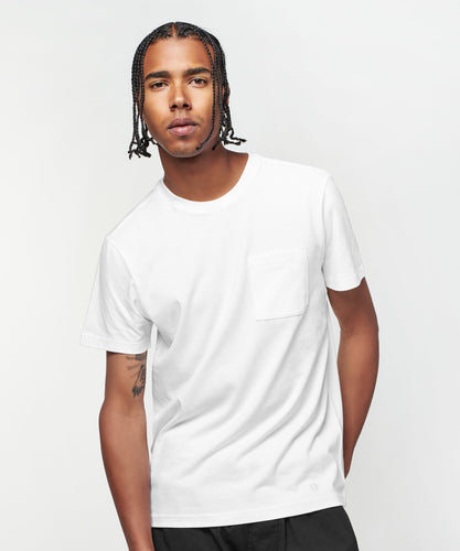 Stance T-Shirts SHELTER POCKET T-SHIRT MENS White