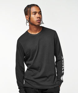 Stance T-shirts Basis Long Sleeve Black fade