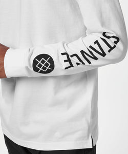 Stance T-shirt Basis Long Sleeve White