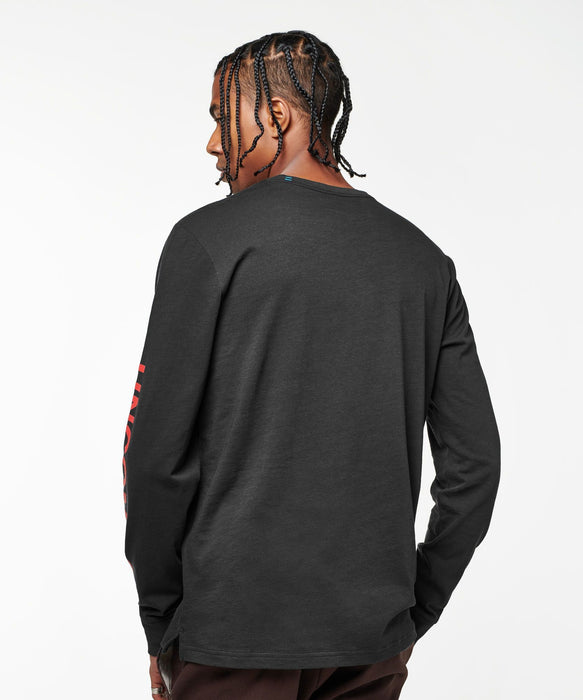 Stance T-shirt Uncommon Black Long Sleeve