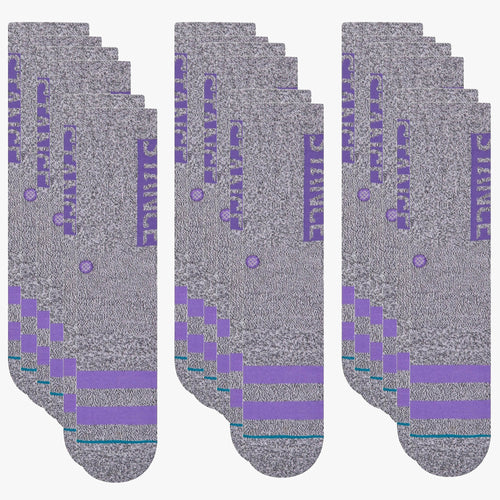Stance Socks OG 9 Pack Grey Heather