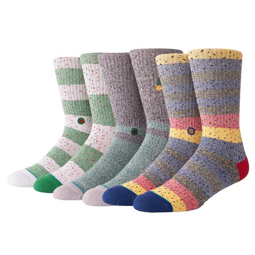 Stance Socks Mens Casual Bundle 2 Multi