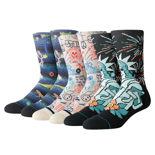 Stance Socks Mens Casual Bundle 1 Multi