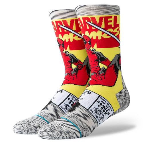 Stance Socks DEADPOOL COMIC Grey