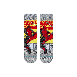Stance Socks Disney Deadpool Comic Grey