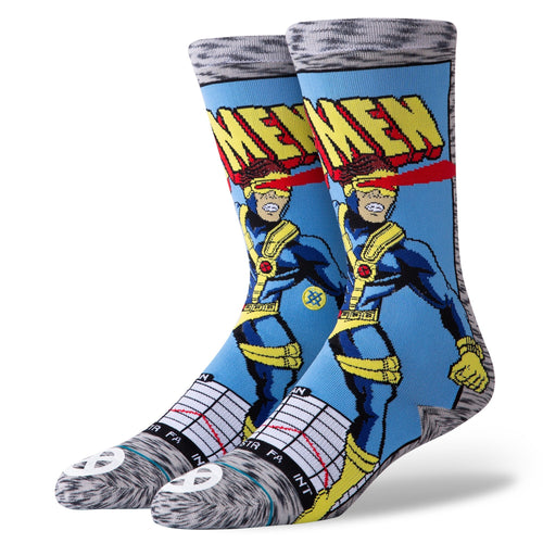 Stance Socks CYCLOPS COMIC Grey