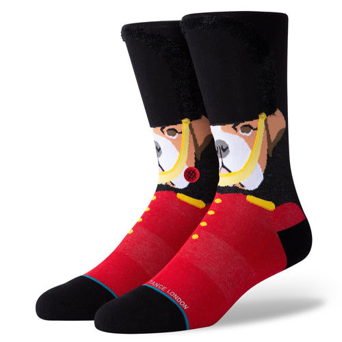 Stance Socks Harry The Bulldog Black