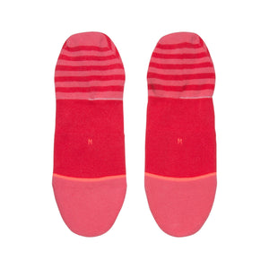 Stance Uncommon Invisible Socks Red