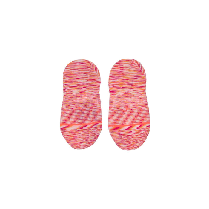 Stance Socks Spacer Invisible Red
