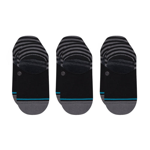 Stance Socks SENSIBLE TWO 3 PACK Black