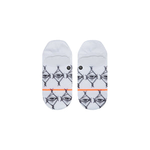 Stance Socks LOOK THROUGH White