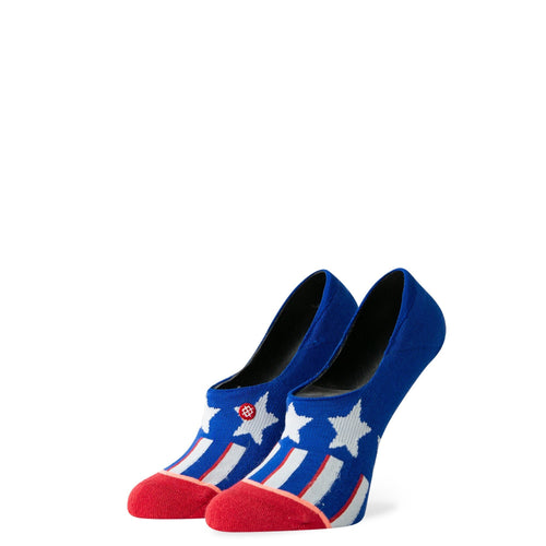 Stance Super Invisible Socks Patriotism Blue
