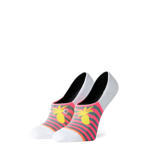 Stance Super Invisible Socks Pretty Pina White