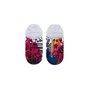 Stance Super Invisible Socks Star Walking White