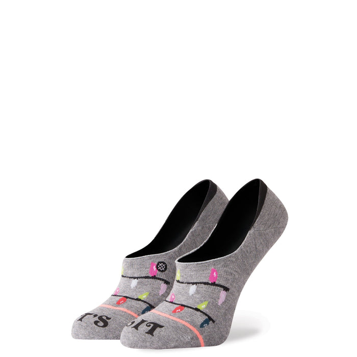 Stance Super Invisible Socks Litty Grey
