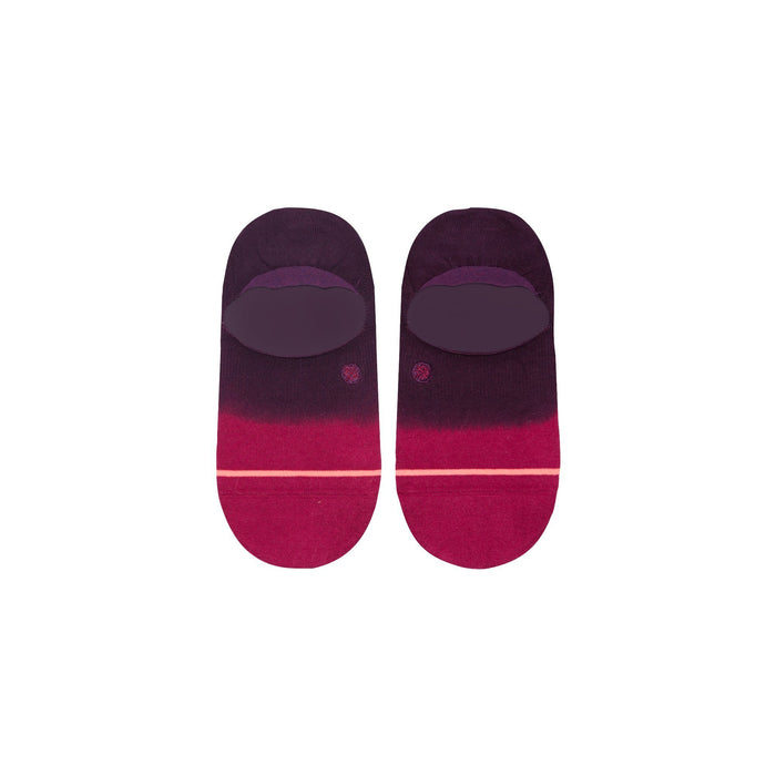 Stance Super Invisible Socks Uncommon Dip Maroon