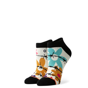 Stance Socks Flower Power Off white