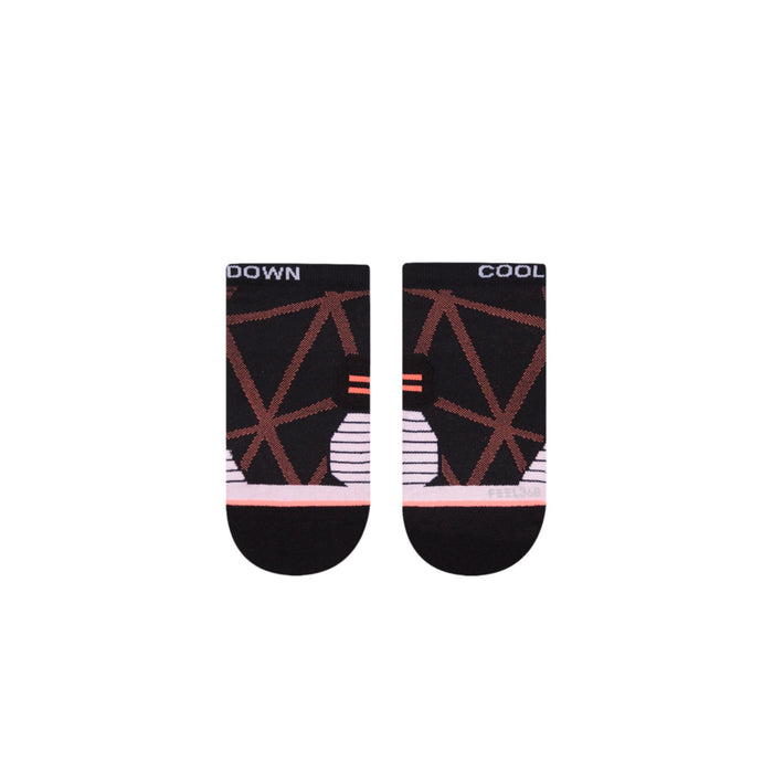 Stance Running Socks Cool Down Tab Low Black