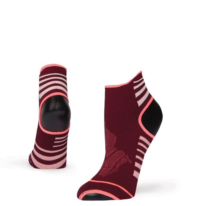 Stance Socks Meditated Maroon