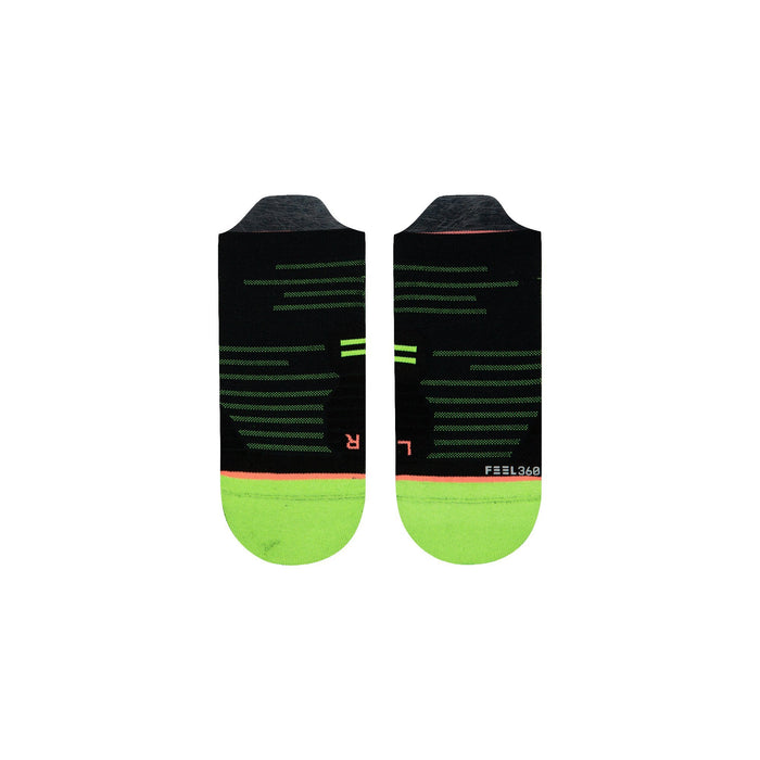 Stance Cycling Socks Flash Tab Black