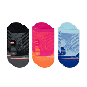 Stance Running Socks Womens Tab 3 Pack Multi