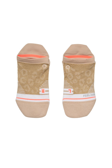 Stance Atheltic Socks Golden Cheetah Tab Gold