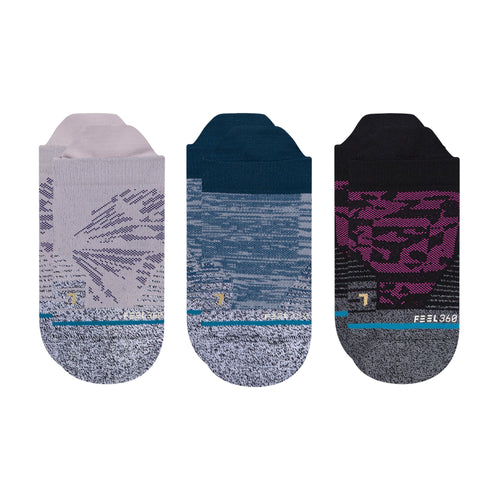 Stance Socks FLUTTER 3 PACK Multi