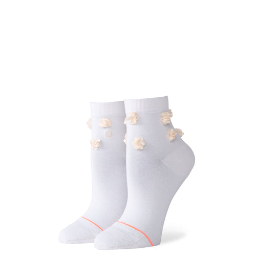 Stance Socks Floral Dimension Off white