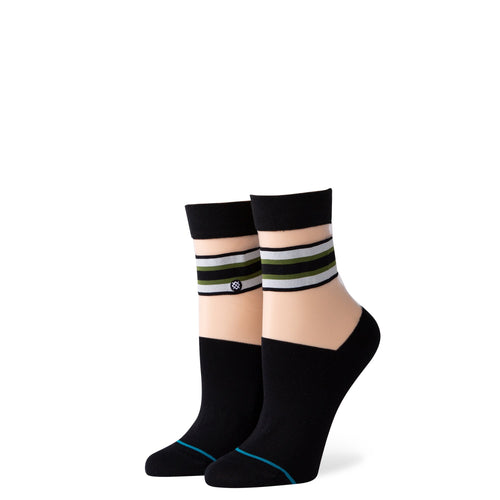 Stance Socks JOAN QUARTER Black