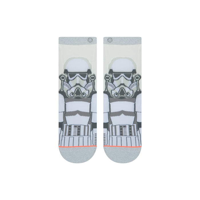 Stance Star Wars Socks Storm Trooper Monofilament White