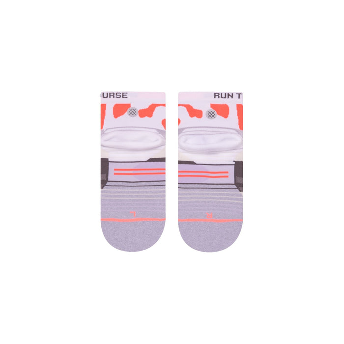 Stance Running Socks RTC Quarter Grey