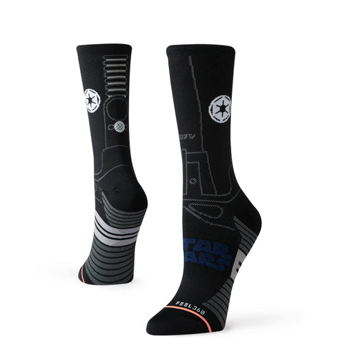 Stance Socks STAR DESTROYER WOMENS CREW Black