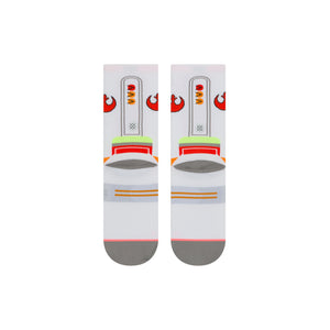 Stance Socks X-WING WOMENS CREW White