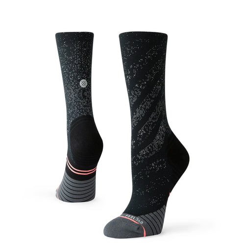 Stance Socks UNCOMMON RUN CREW WOMENS Black
