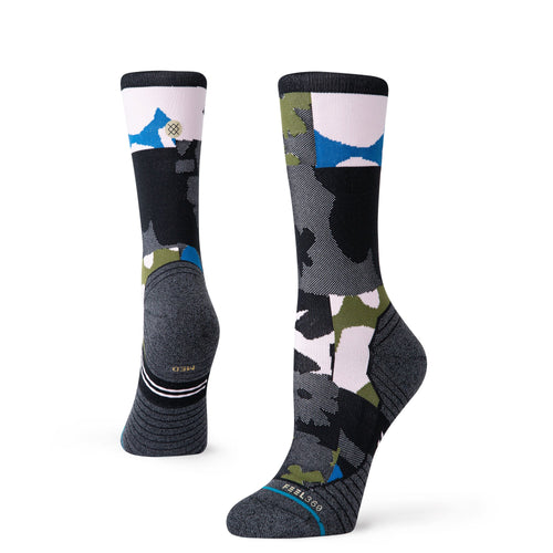 Stance Socks Caught Crew Black