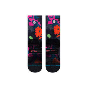 Stance Socks Run Away With Me Crew Pink