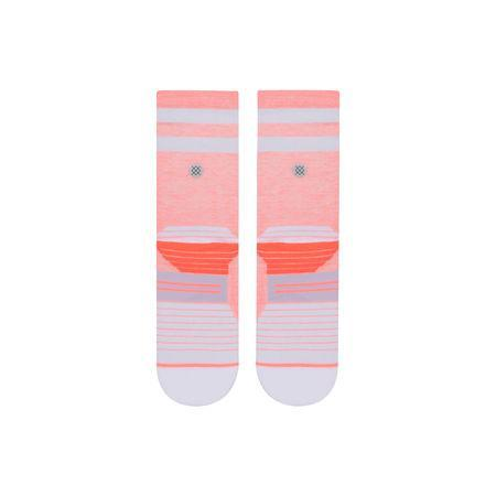 STANCE SOCKS UNCOMMON SOLID RUN CREW SOCK IN Coral